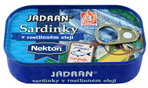 large image Sardines in vegetable oil