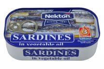 large image Sardines in vegetable oil