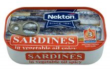 large image Sardines in vegetable oil spiced