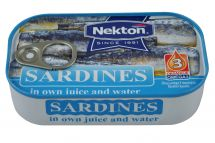 large image Sardines in brine slightly