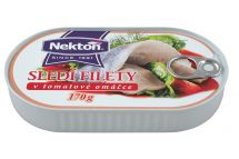 large image Herring fillets in tomato sauce