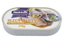 large image Herring fillets in mustard sauce
