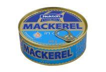 large image  Mackerel in oil
